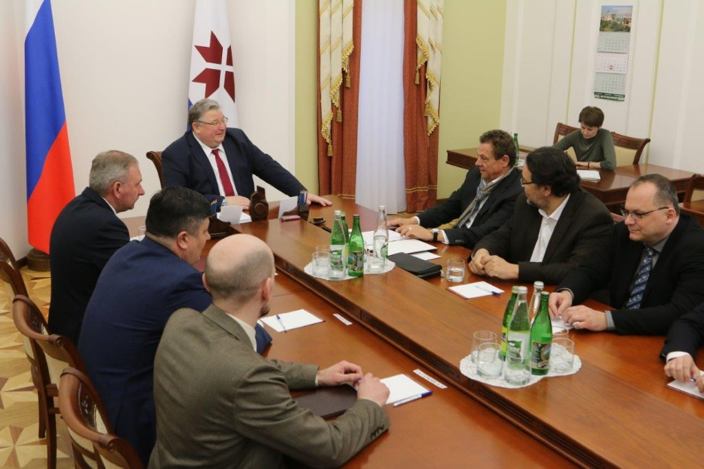 Венгерские инвесторы помогут построить в Мордовии молочный комплекс