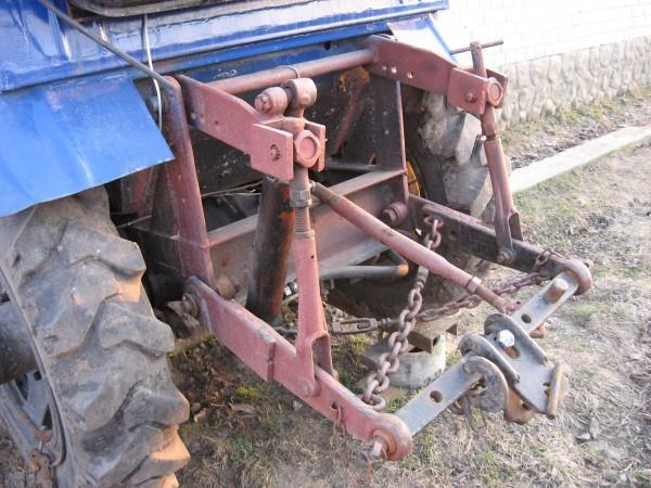 Навеска как сделать на самодельный трактор