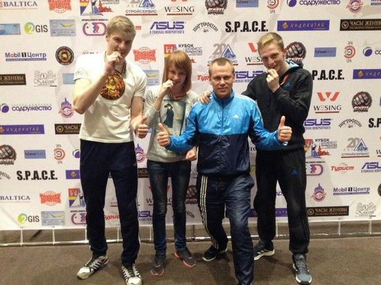 Сборная Нижегородской области заняла третье место наКубке России потайскому боксу